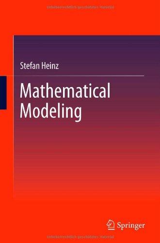 Mathematical Modeling 9783642203107