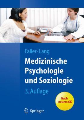Medizinische Psychologie Und Soziologie 9783642125836
