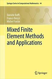 Mixed Finite Element Methods and Applications 20580561