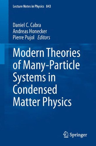 Modern Theories of Many-Particle Systems in Condensed Matter Physics 9783642104480