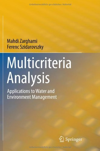 Multicriteria Analysis: Applications to Water and Environment Management 9783642179365