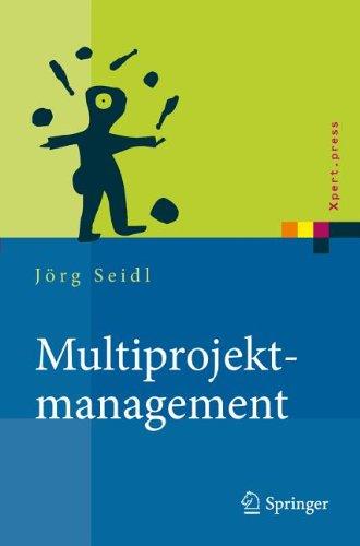 Multiprojektmanagement: Bergreifende Steuerung Von Mehrprojektsituationen Durch Projektportfolio- Und Programmmanagement 9783642167225