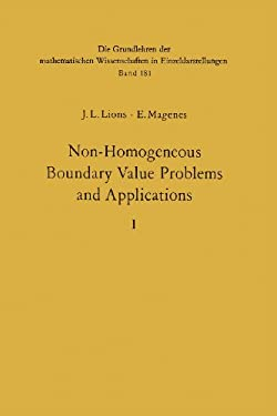 Non-Homogeneous Boundary Value Problems and Applications: Vol. 1 9783642651632