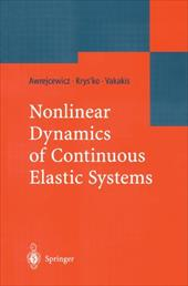 Nonlinear Dynamics of Continuous Elastic Systems 10984032