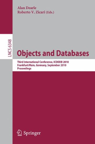 Objects and Databases 9783642160912