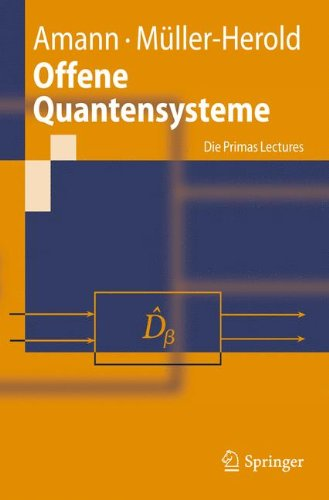 Offene Quantensysteme: Die Primas Lectures 9783642051869