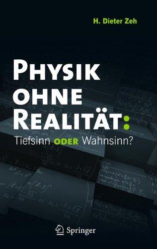 Physik Ohne Realit T: Tiefsinn Oder Wahnsinn? 9783642218897