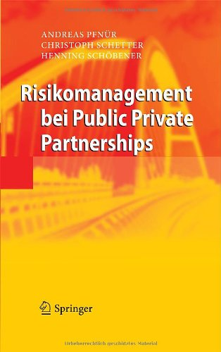 Risikomanagement Bei Public Private Partnerships
