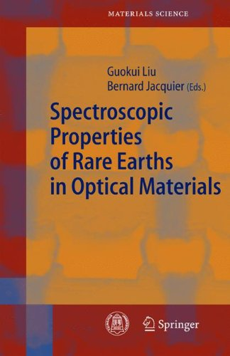 Spectroscopic Properties of Rare Earths in Optical Materials 9783642062834
