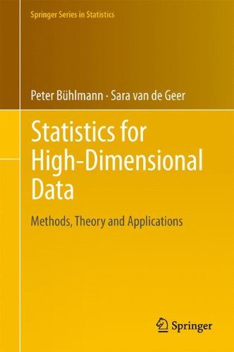 Statistics for High-Dimensional Data: Methods, Theory and Applications 9783642201912