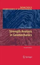 Strength Analysis in Geomechanics 8006656