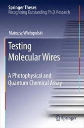 Testing Molecular Wires: A Photophysical and Quantum Chemical Assay