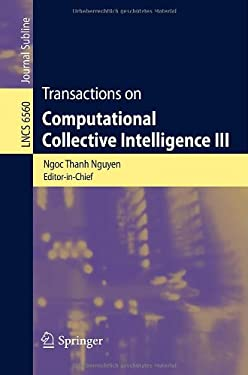Transactions on Computational Collective Intelligence III 9783642199677