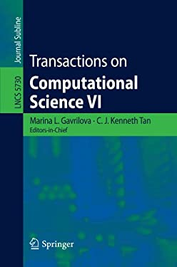 Transactions on Computational Science VI 9783642106484