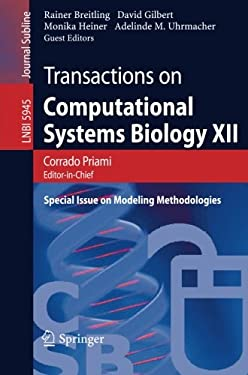 Transactions on Computational Systems Biology XII: Special Issue on Modeling Methodologies 9783642117114