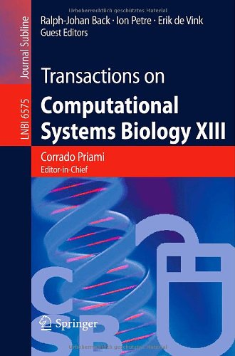 Transactions on Computational Systems Biology XIII 9783642197475