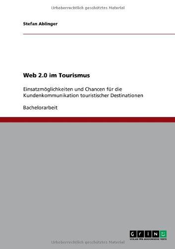Web 2.0 Im Tourismus 9783640658923