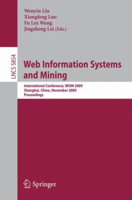 Web Information Systems and Mining 9783642052491