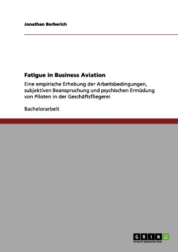Fatigue in Business Aviation 9783656196501