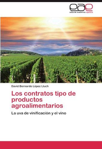 Los Contratos Tipo de Productos Agroalimentarios 9783659004605