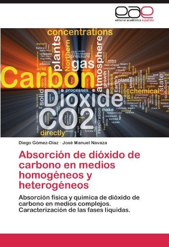 Absorci N de Di Xido de Carbono En Medios Homog Neos y Heterog Neos 9783659006944