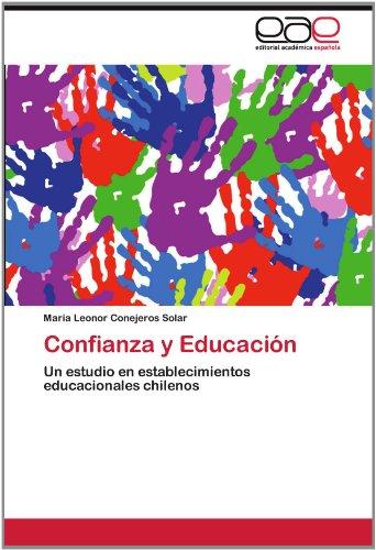 Confianza y Educaci N 9783659009167