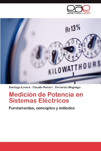 Medici N de Potencia En Sistemas El Ctricos 9783659012822