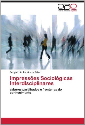 Impress Es Sociol Gicas Interdisciplinares 9783659019821