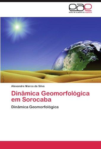 Din Mica Geomorfol Gica Em Sorocaba 9783659021930