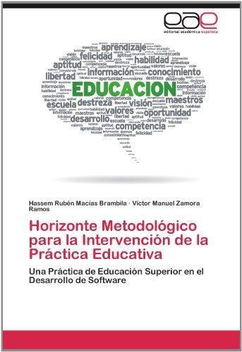 Horizonte Metodol Gico Para La Intervenci N de La PR Ctica Educativa 9783659034756