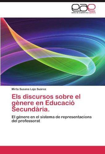 Els Discursos Sobre El G Nere En Educaci Secund RIA. 9783659034961