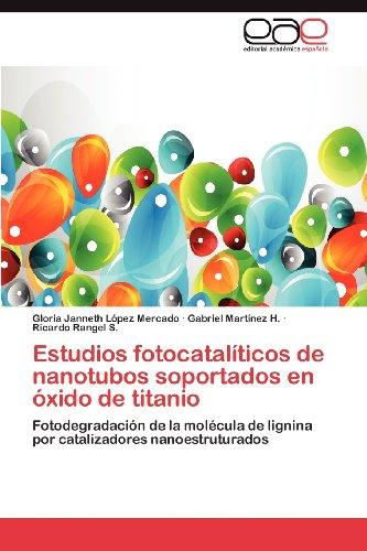 Estudios Fotocatal Ticos de Nanotubos Soportados En Xido de Titanio 9783659035814