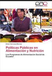 Pol Ticas P Blicas En Alimentaci N y Nutrici N 19500492