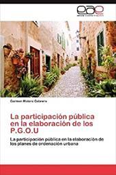 La Participaci N P Blica En La Elaboraci N de Los P.G.O.U 20375713