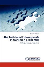 The Feldstein-Horioka Puzzle in Transition Economies 19500969
