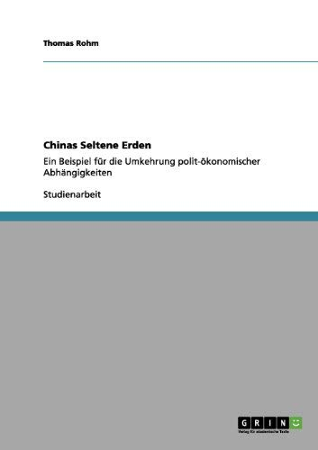 Chinas Seltene Erden 9783656065500