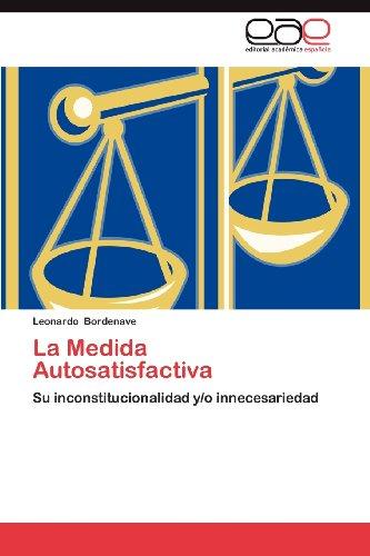 La Medida Autosatisfactiva 9783659012518