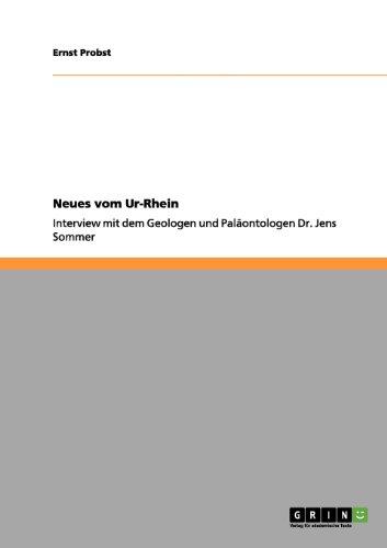 Neues Vom Ur-Rhein 9783656090656