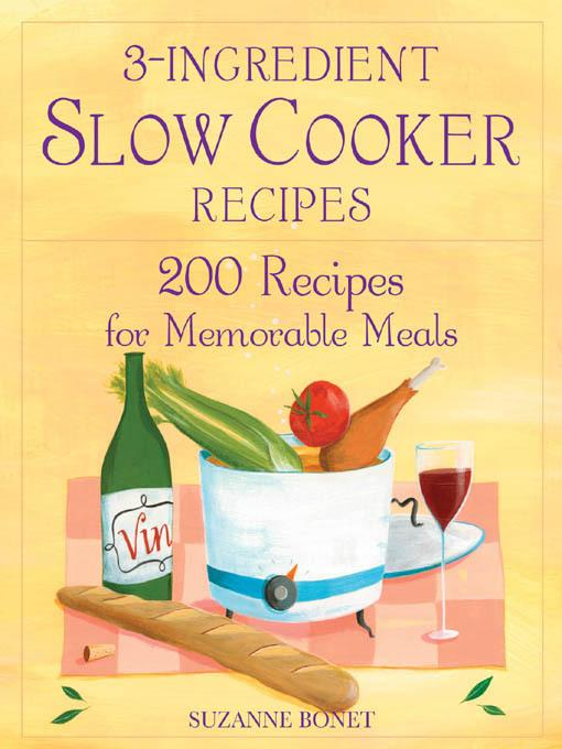 3-Ingredient Slow Cooker Recipes EB2370003273748