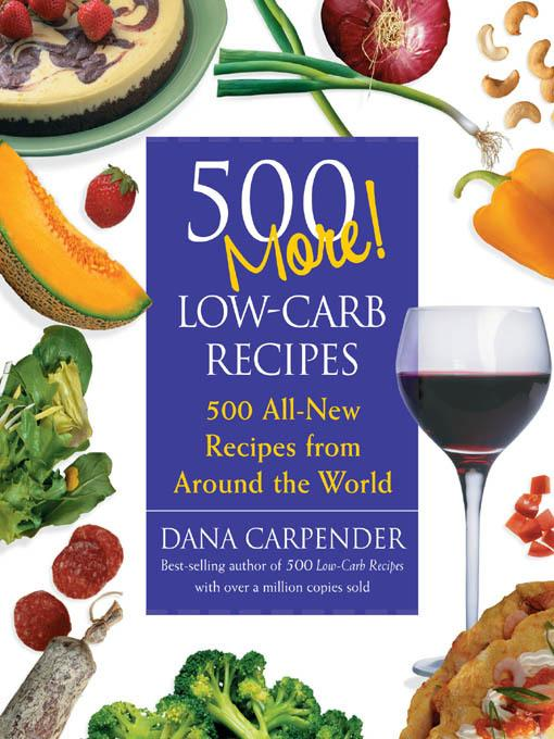 500 More Low-Carb Recipes EB2370003272901