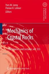 Mechanics of Crustal Rocks 16088502