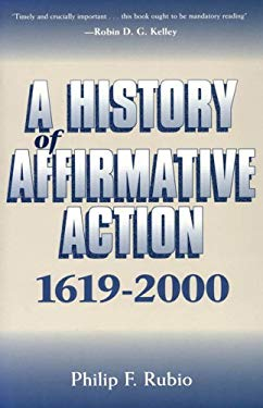 A History of Affirmative Action, 1619-2000 EB2370004376400