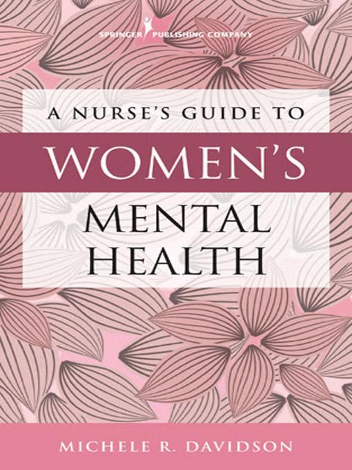 A Nurse's Guide to Women's Mental Health EB2370004389547