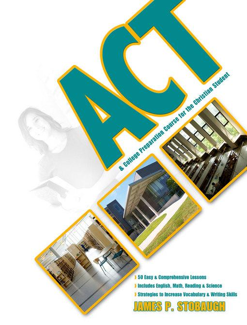 ACT & College Preparation Course for the Christian Student EB2370004328263