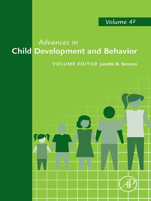 Advances in Child Development and Behavior EB2370004374314