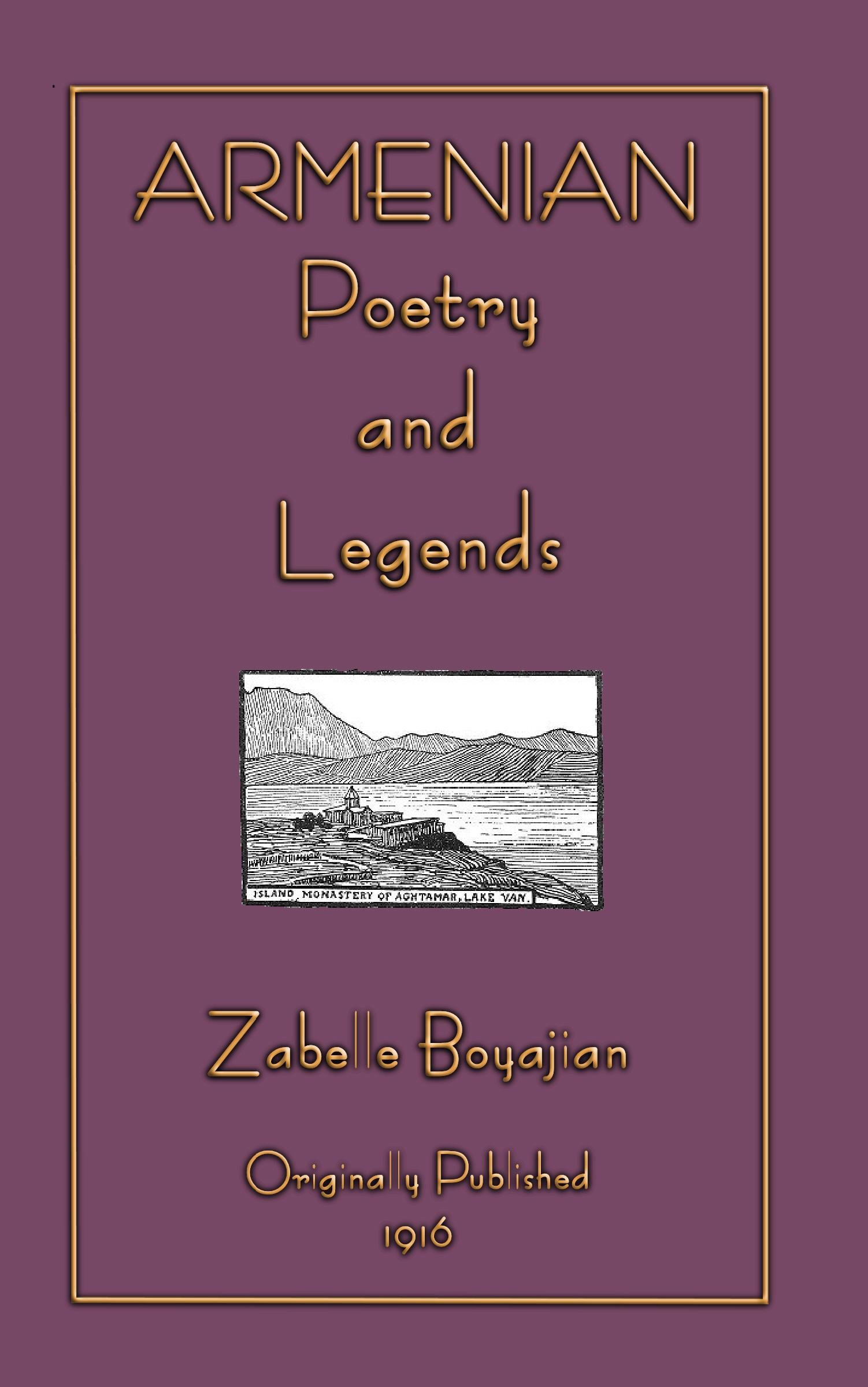 Armenian Legends and Poems EB2370003805154