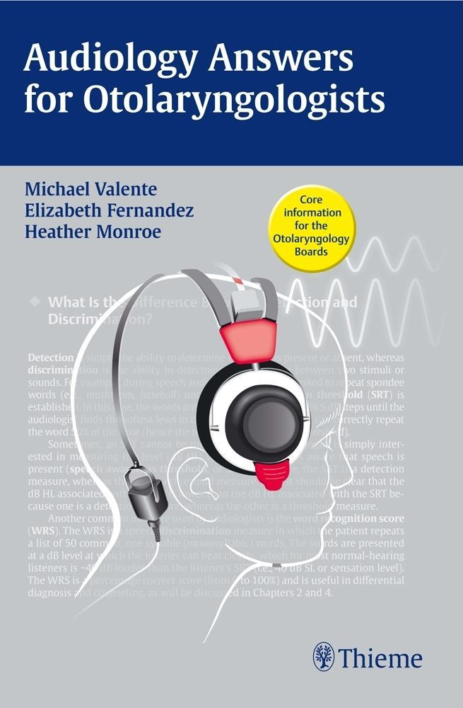 Audiology Answers for Otolaryngologists EB2370004331539