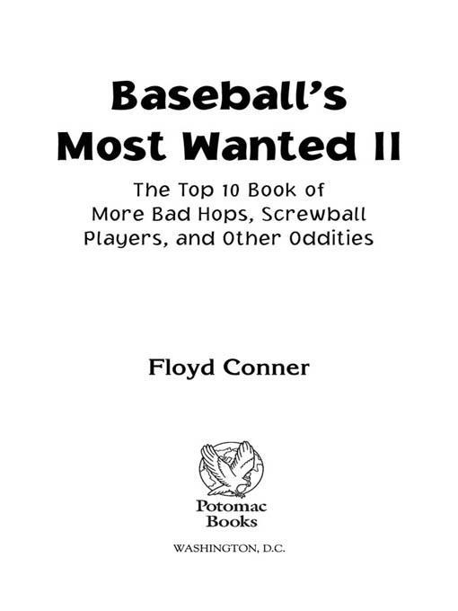 Baseball's Most Wanted? II EB2370004234182