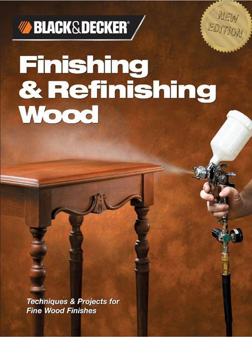 Black & Decker Finishing & Refinishing Wood EB2370003269055