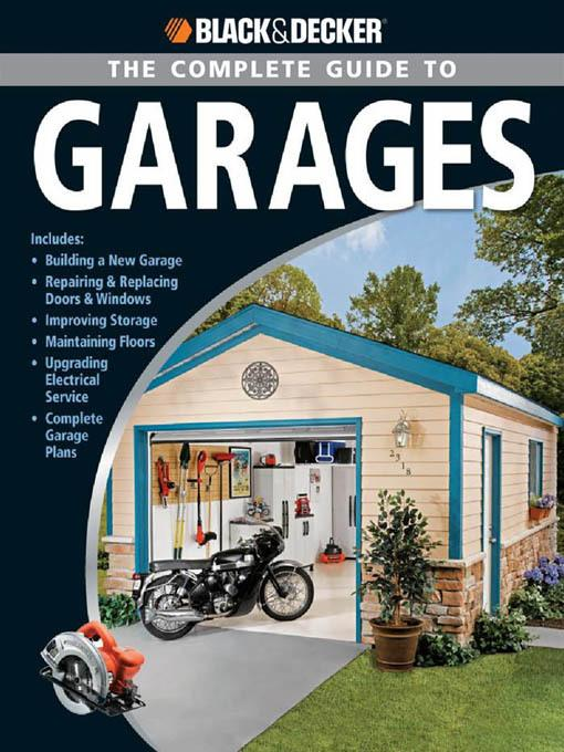 Black & Decker The Complete Guide to Garages EB2370003281293